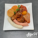 Ateljee 94 - Foodshop - sfeertafelen - Grill stone
