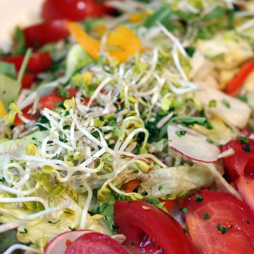 Ateljee 94 achtergrond - Foodshop - Traiteur gerechten - Koud buffet bord